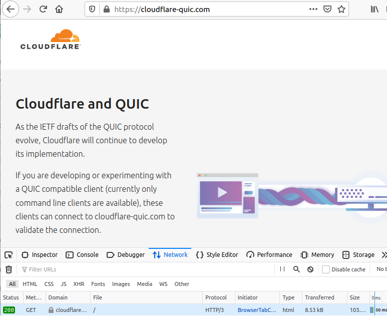 How to test HTTP/3 and QUIC with Firefox Nightly