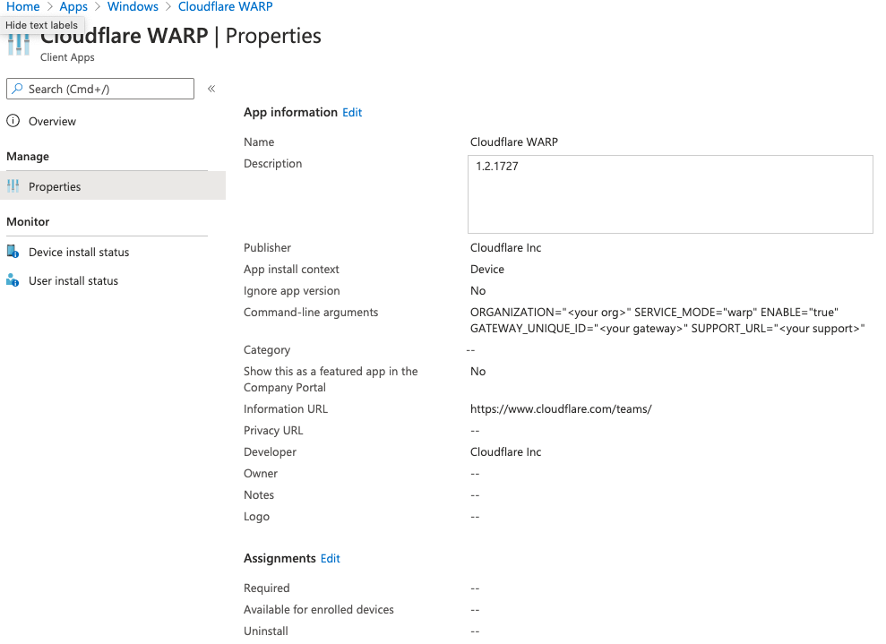 Introducing WARP for Desktop and Cloudflare for Teams
